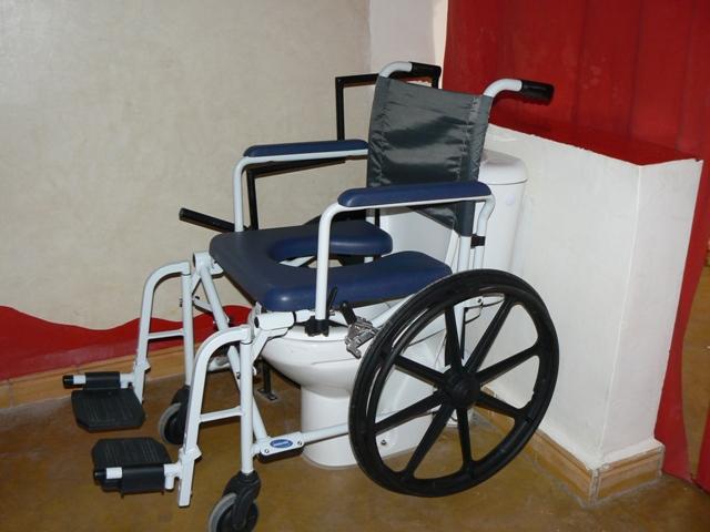 Chaise de toilette pour handicape - Chaise wc pour handicape ...